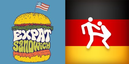 Expat Sandwich Podcast with Marty Walker, Featuring Interview with OGM of Oh God, My Wife Is German.