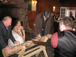 german-wedding-log-saw-tradition