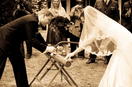 german-wedding-tradition-log-cutting-ceremony